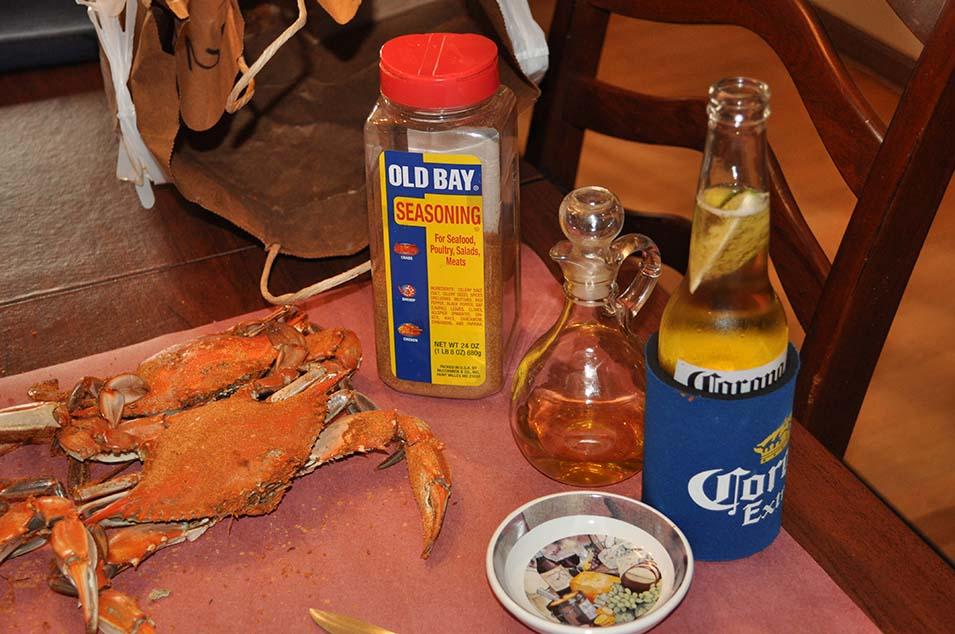 Crabs and Corona