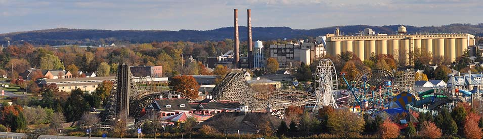 Hershey Park Panoramic View