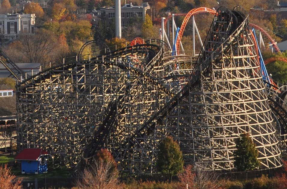 Hershey Park Wooden Roller Coaster