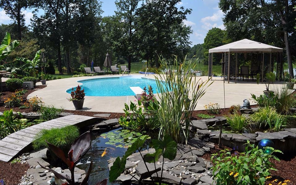 """We love spending time in our """"Backyard Paradise""""!"""
